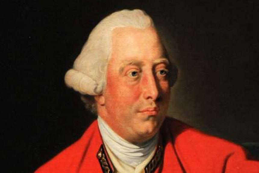 A letter by King George III (above) on peace negotiations with America after the War of Independence.