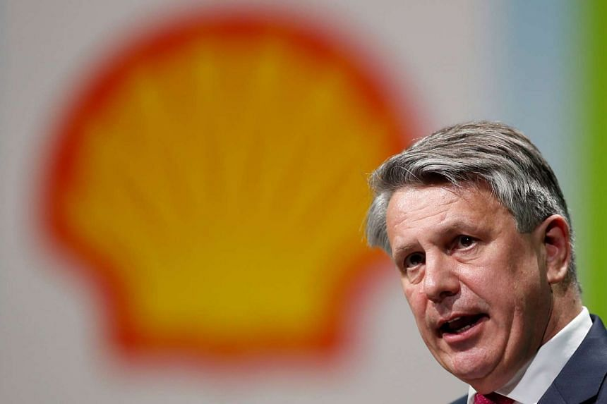 Ben van Beurden, chief executive officer of Royal Dutch Shell, speaks during the 26th World Gas Conference in Paris, France, on June 2, 2015.