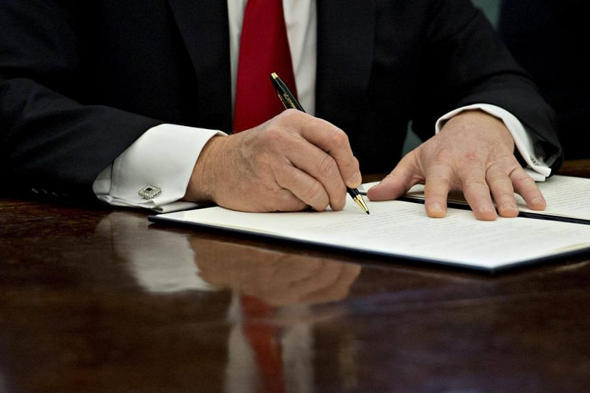 President Donald Trump's first week in office seems to be full of executive orders, but it is not really all that uncommon.