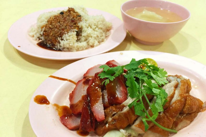 Teck Kee Hainanese Chicken Rice from Holland Drive Market and Food Centre.