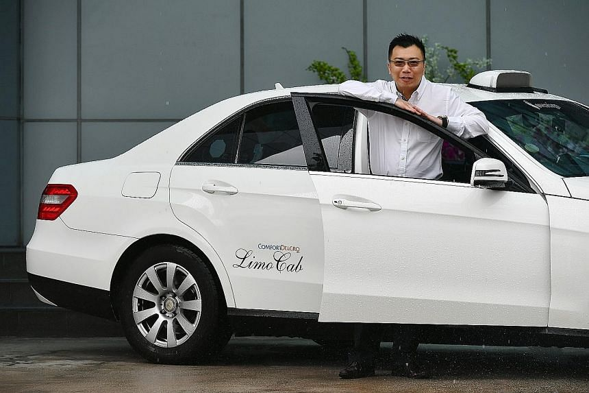 In his 11 years as a cabby, Mr Chua has found items like phones and wallets left behind by passengers in his cab. Each time, he would drive back to return the items to them. ComfortDelGro will award Mr Chua and his relief driver, Mr Ong, the Thumbs U