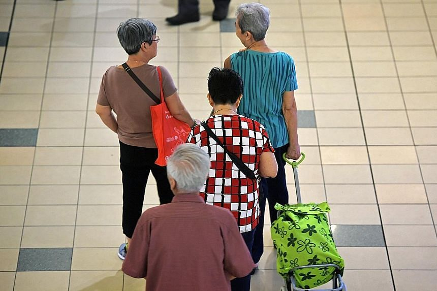 While Singaporeans are living longer, they are also having fewer children, who are the traditional caregivers. Participants at the Institute of Policy Studies' scenario-planning exercise suggested ways to deal with the ageing population here, includi