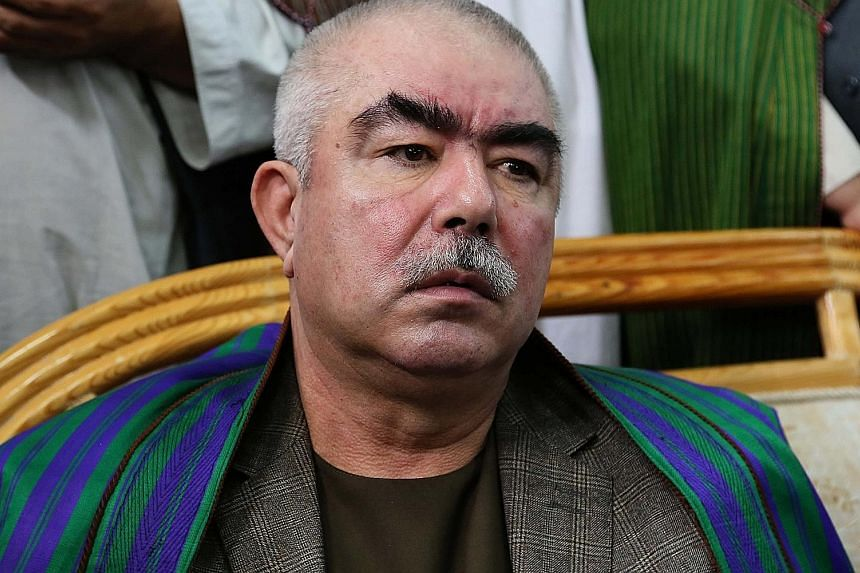 Mr Dostum was publicly accused of brutality and rape by a former governor and political rival.
