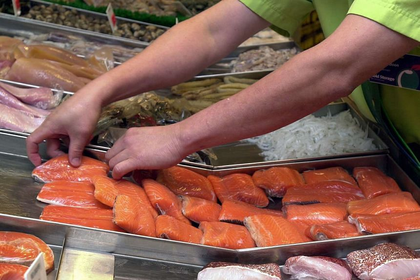 Sea lice and toxic algae are affecting salmon farms.