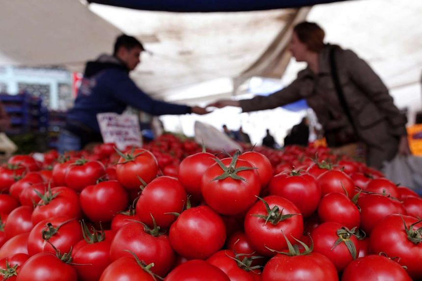 """Agricultural researchers at the University of Florida, partnering with Chinese, Israeli and Spanish scientists, identified several dozen tomato chemicals that were """"significantly correlated with flavour intensity""""."""