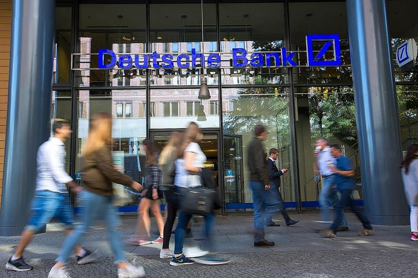 A lack of controls at Deutsche Bank to prevent money laundering and other offences helped wealthy Russians move about US$10 billion (S$14.2 billion) out of the country using transactions that were likely thinly veiled attempts to cover up financial c