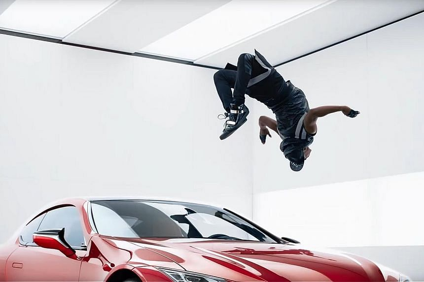 """Lexus' Super Bowl ad features music from Sia and a new global tagline, """"Experience Amazing""""."""