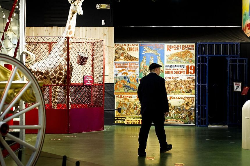 The Circus World Museum in Baraboo, Wisconsin, a city that is a mecca for circus fans because it was where the Ringling brothers grew up.
