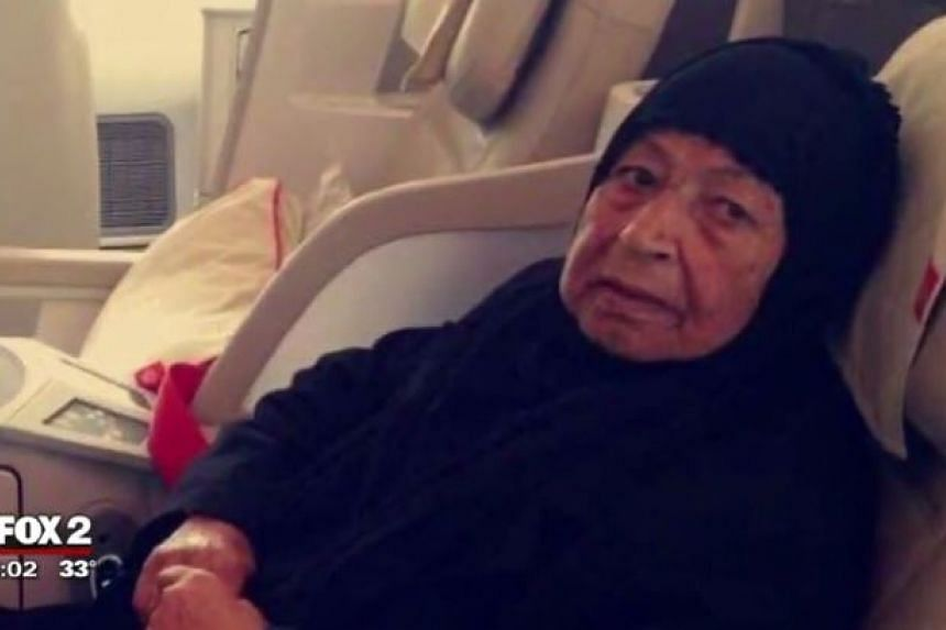 Mr Mike Hager's mother, Naimma, died a day after she was prevented from boarding a US-bound flight.