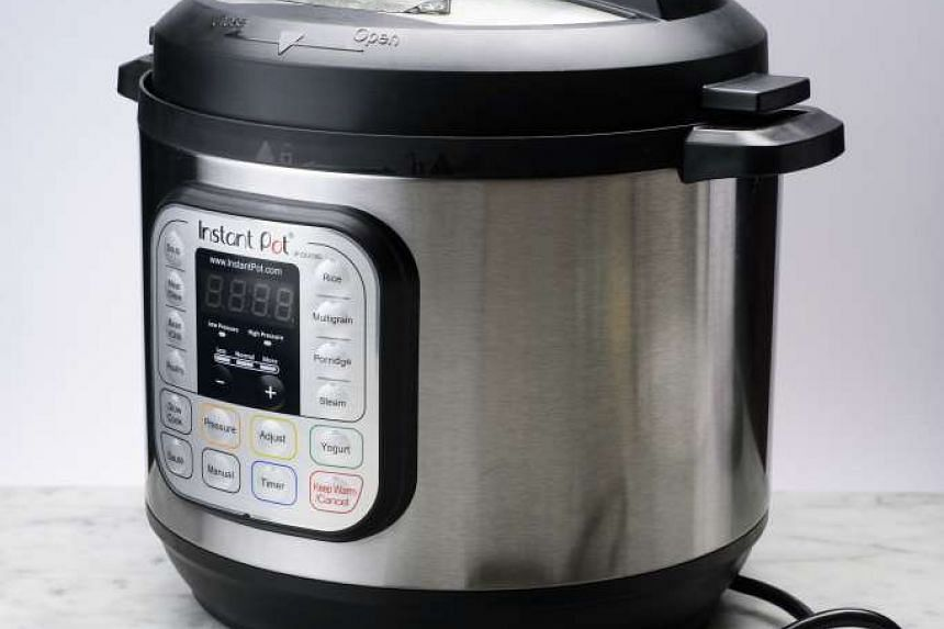 The Instant Pot combines an electric pressure cooker, slow cooker, rice cooker and yogurt maker in one handy unit