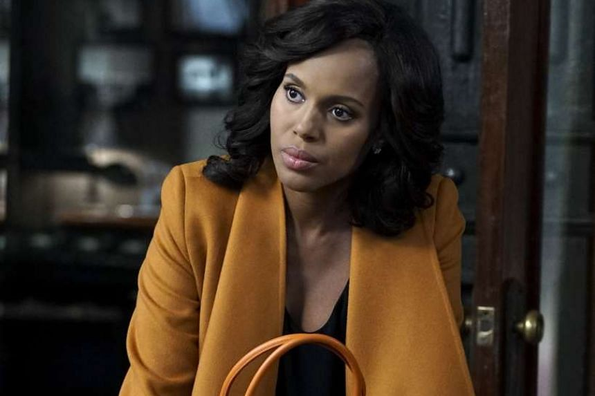 Kerry Washington, who plays political fixer Olivia Pope (above) in Scandal.
