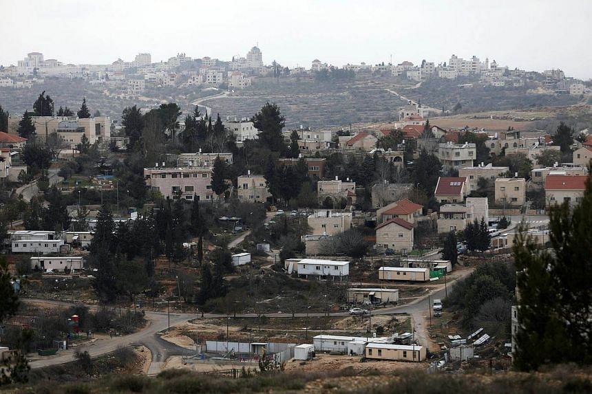 The Israeli settlement of Bet El in the occupied West Bank on Jan 26, 2017. Israel said on Wednesday (Feb 1) it would establish a new settlement in the occupied West Bank, the first since the late 1990s.