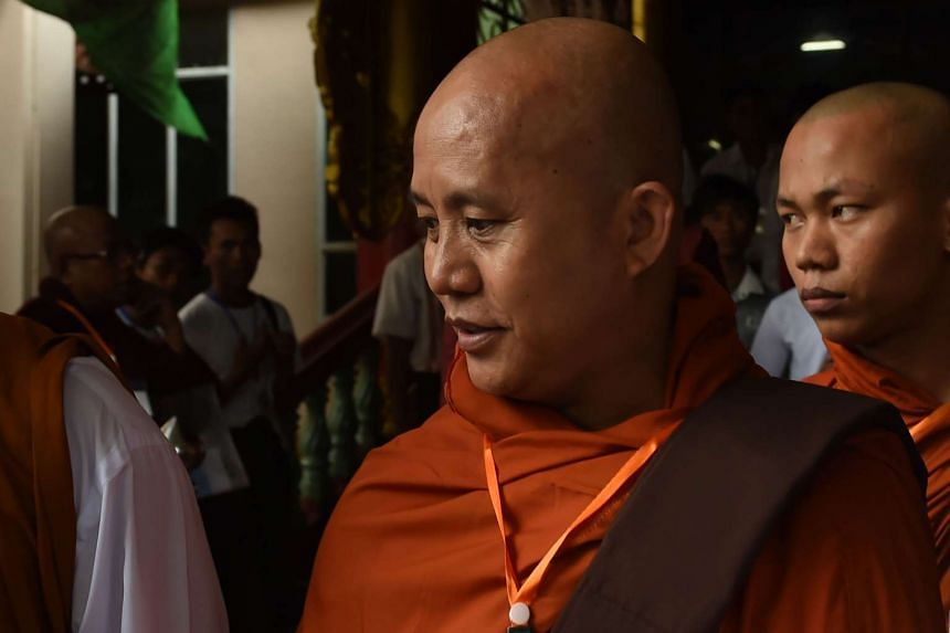 Hardline Buddhist monk Wirathu has been barred from an event following the assassination of Muslim lawyer Ko Ni.