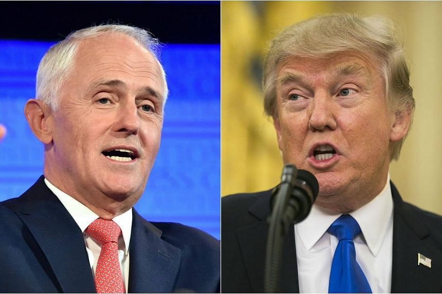President Donald Trump blasted Australian Prime Minister Malcolm Turnbull over a refugee agreement and boasted about the magnitude of his electoral college win, then abruptly ended what was expected to be an hour-long call, after 25 minutes.