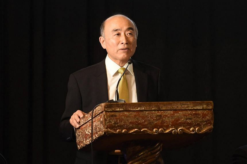 Deputy Managing Director of the International Monetary Fund (IMF), Mitsuhiro Furusawa speaks during the inauguration of the XIV Regional Conference for Central America, Panama, and the Dominican Republic on Nov 17, 2016.