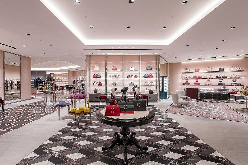 New Gucci store at Ion Orchard