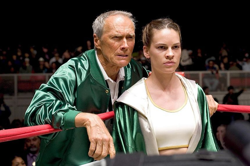 Actor-director Clint Eastwood (with Hilary Swank) shone in Million Dollar Baby (2004). Ben Affleck seen in Batman V Superman: Dawn Of Justice.