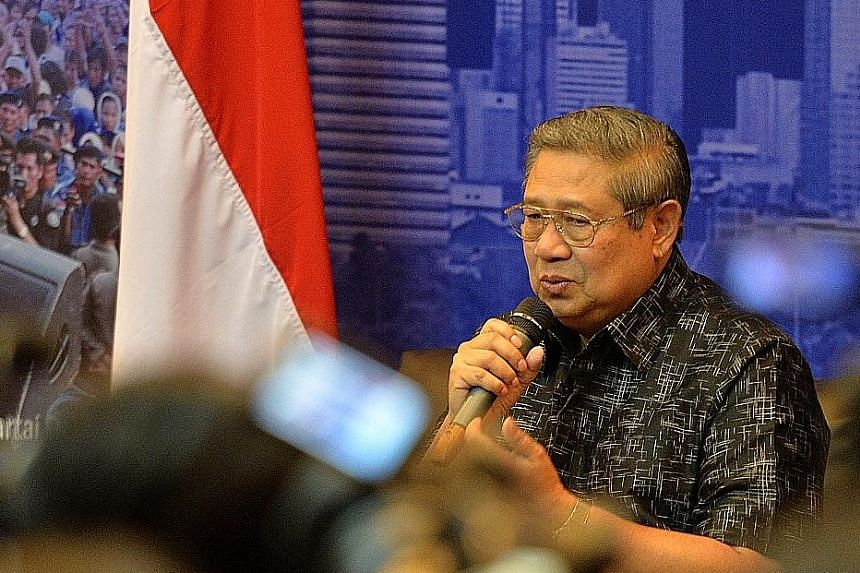Dr Yudhoyono suspected his phone was tapped when a lawyer said there was evidence the ex-Indonesian president had called a Muslim cleric and urged him to declare that Jakarta Governor Basuki had committed blasphemy.