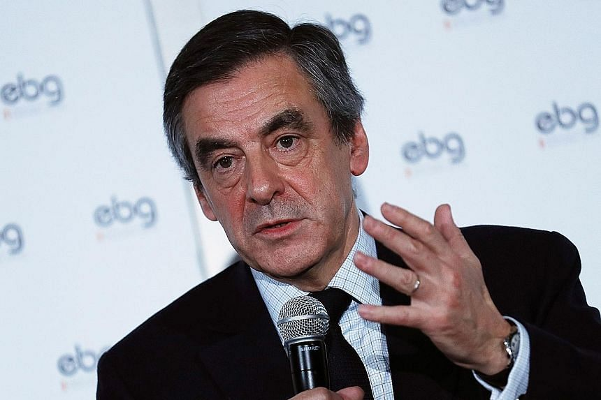 A French newspaper alleged that presidential hopeful Fillon obtained for his children and wife dubious jobs as aides that paid $1.52 million in all.