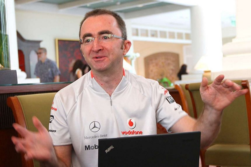 Former Mercedes Formula One technical head Paddy Lowe started his F1 career at Williams in 1987.