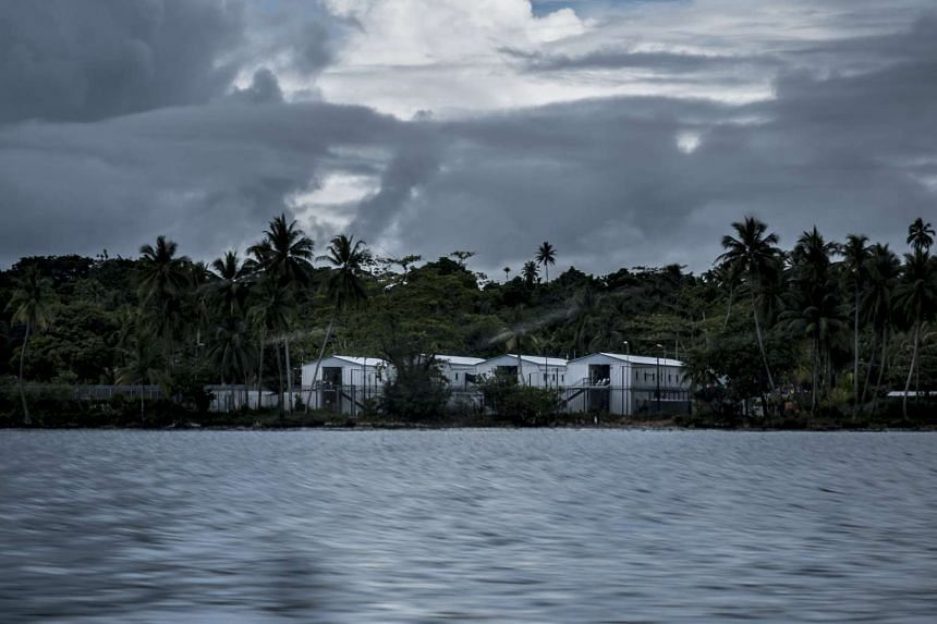 A camp for processing immigrants to Australia is seen on Manus Island, Papua New Guinea, on Nov 18, 2016.