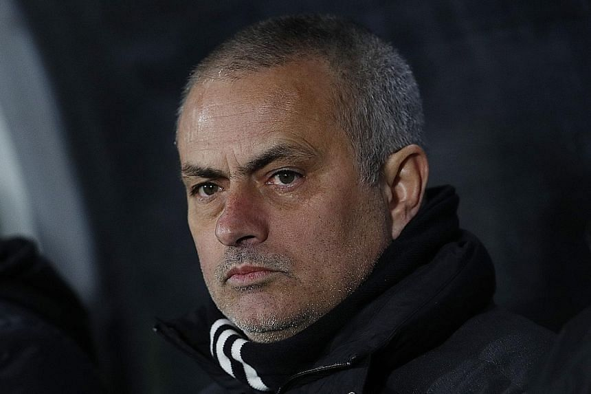 Jose Mourinho (above) has declared he is being scrutinised by a different yardstick from other Premier League managers.