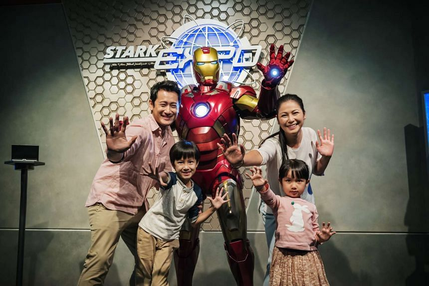 Guests can step into the world of Iron Man for an amazing experience.