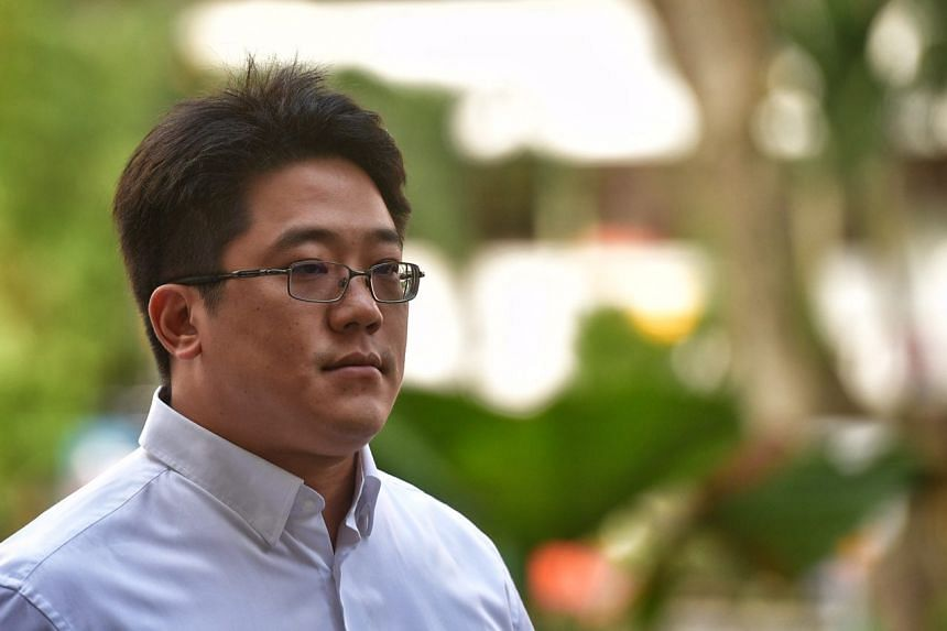 Ong Jenn, the 41-year-old grandson of Metro founder Ong Tjoe Kim and the son of its former group managing director Jopie Ong, arrives at the State Courts on Feb 3, 2017.