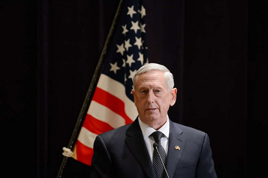 US Defence Secretary James Mattis said putting Iran on notice was worthwhile, given its behaviour. But he firmly played down the idea of any military buildup.