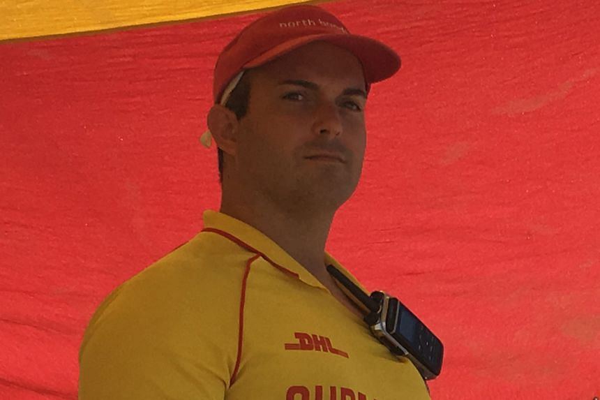 Dr Hotton (above) says being a member of his local club at Bondi makes him feel a part of the community.