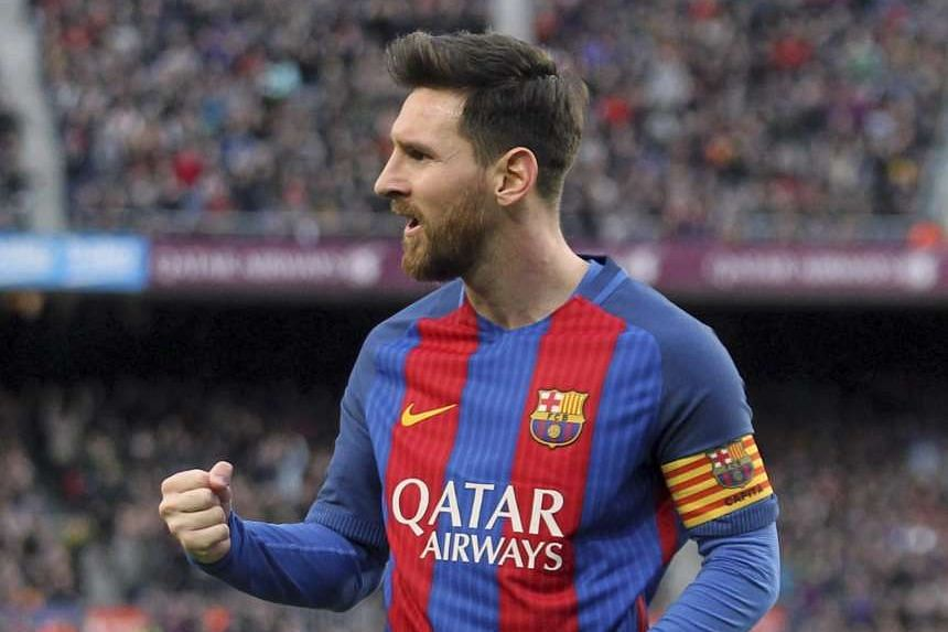 Lionel Messi became the club's top scorer from free-kicks.