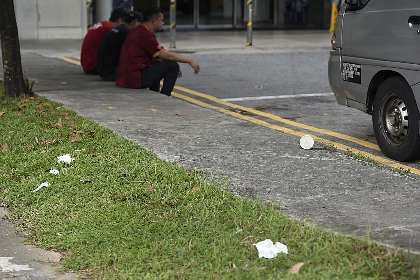 Most offenders tossed items like cigarette butts, tissue paper and plastic cups. MP Lee Bee Wah says the bad habit is not solely the province of less educated seniors, as stereotype has it.