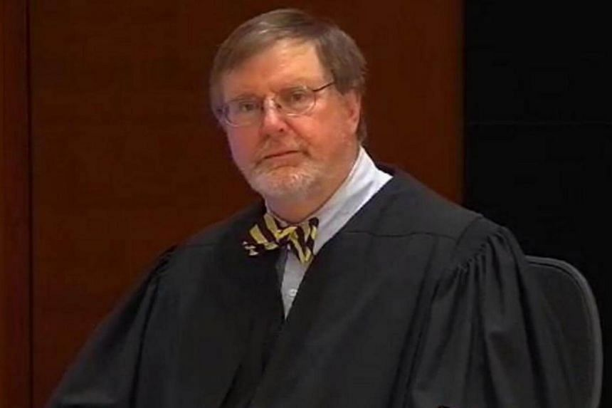 US District Judge James Robart rules on the travel ban imposed by US President Donald Trump, on Feb 3, 2017.