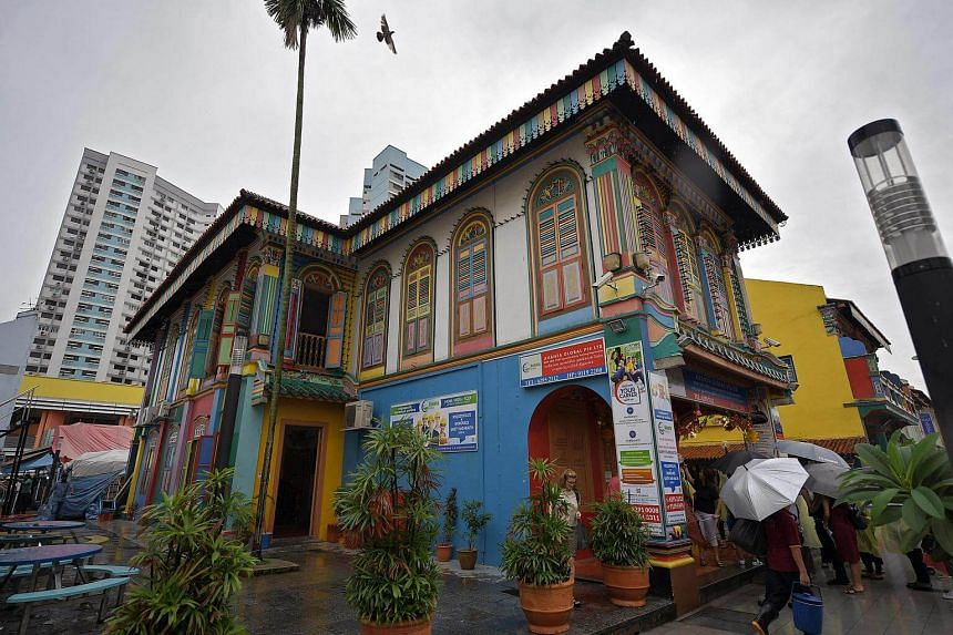 The former house of Tan Teng Niah along Kerbau Road is one of the historical landmarks along the Little India Heritage Trail.