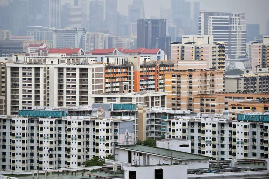 Public and private housing near Toa Payoh Lorong 7.