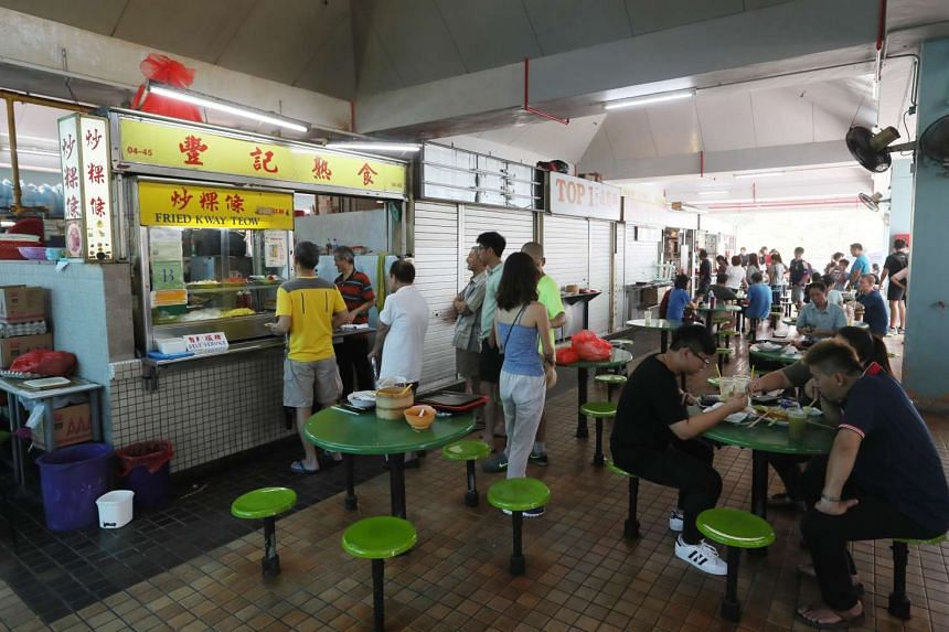 A notice was issued to stallholders at Beauty World Centre's food centre around Chinese New Year stating that they must cease operations by Feb 11. Hawkers said they were told on Sunday (Feb 5) that they can now stay on until further notice.