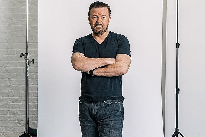 British comedian Ricky Gervais is fond of the faded reality-TV star he plays in The Office for being a loser.