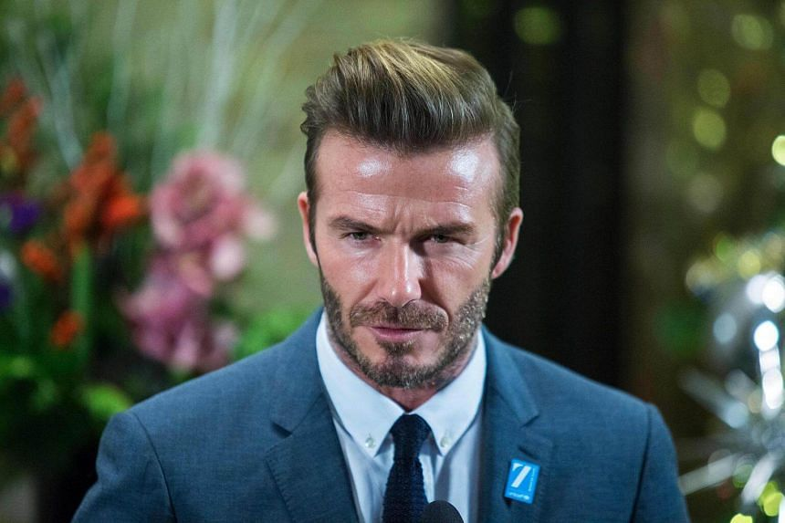 David Beckham was made an Officer of the Most Excellent Order of the British Empire in 2003, two steps below a knighthood.