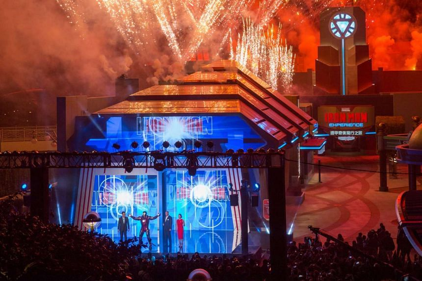 The much-awaited Iron Man Experience opened with much fanfare at Hong Kong Disneyland.