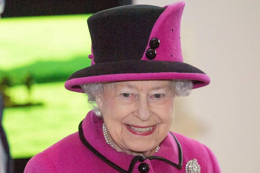Britain's Queen Elizabeth II pays a visit to the Sainsbury Centre for Visual Arts at the University of East Anglia in Norwich, east England, on Jan 27, 2017.