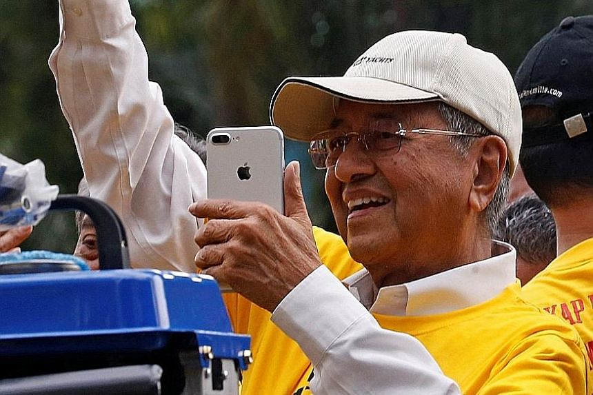 PAS, led by president Abdul Hadi Awang, has a stronger hold among Malays than other opposition parties. The opposition is banking on the star power of PPBM chairman Mahathir Mohamad, who was once a top Umno leader, to draw votes. PM Najib recently la