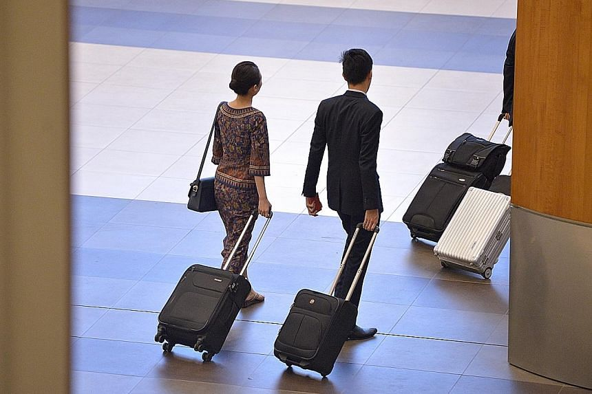 SIA crew members are granted up to 28 days of paid medical leave and six months of paid hospitalisation leave for chronic or prolonged illness. The airline stressed that those on medical leave are encouraged to rest and recuperate at home, and operat