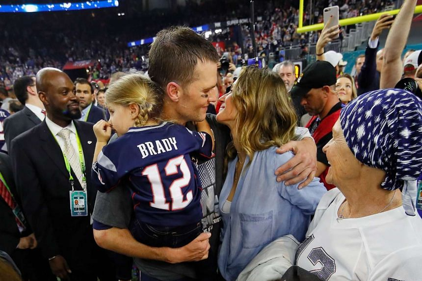 NFL  Patriots star Tom Brady s wife urged him to retire after Super Bowl  comeback win 6719e52d7