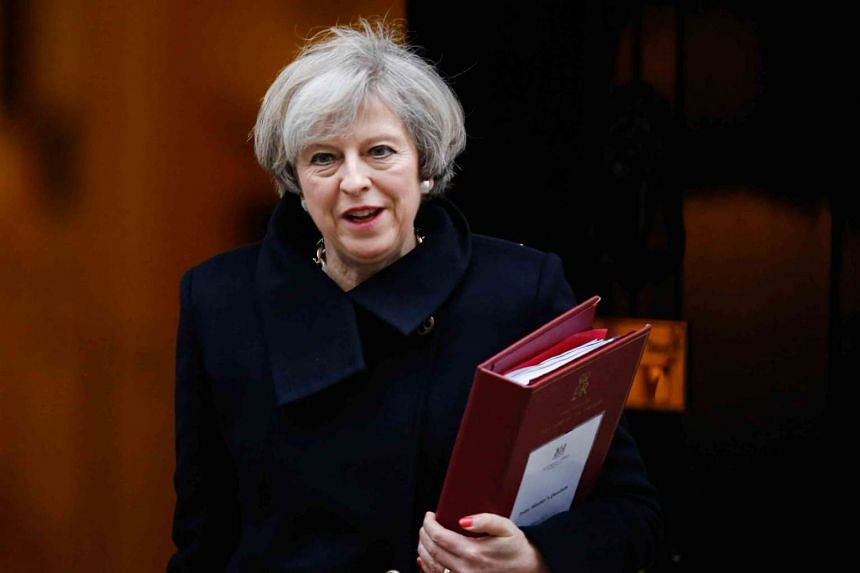 The bill will empower British Prime Minister Theresa May to start Brexit negotiations.