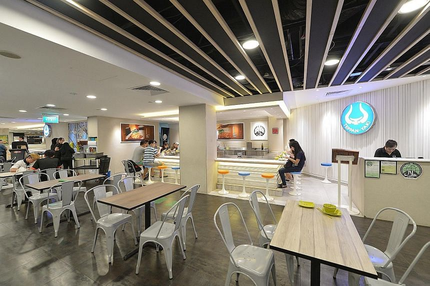 Shares of Auric Pacific, which owns Food Junction foodcourts, jumped 13.4 per cent or 19.5 cents to the offer level - $1.65 - yesterday after the counter resumed trading, following a two-hour trading halt.