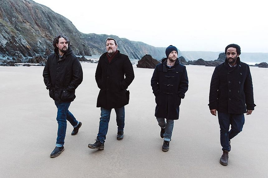 Elbow (comprising, from far left, Craig Potter, Guy Garvey, Mark Potter and Pete Turner) shine with stellar and imaginative playing.