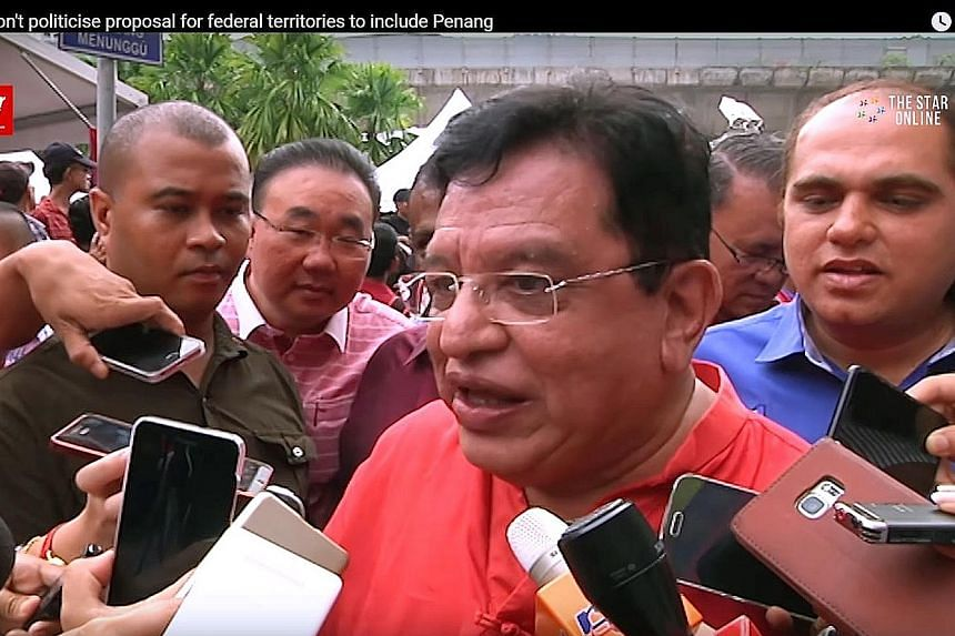 Federal Territories Minister Tengku Adnan's idea was rejected by Penang Chief Minister Lim Guan Eng, who called him a conqueror.