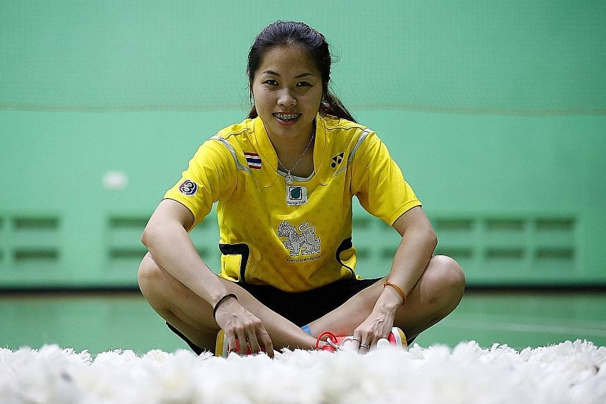 """Ratchanok Intanon, who topped the world rankings after her triumph at the Indoor Stadium last year, said: """"I'm definitely going all out to defend my title."""""""
