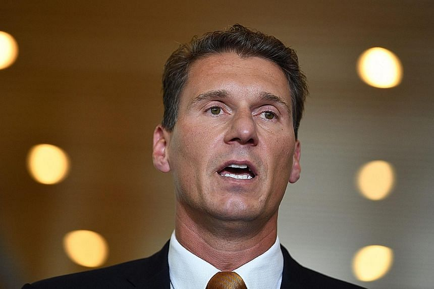 Senator Cory Bernardi (left) could leave Mr Turnbull with a minority government if he can convince a single Lower House lawmaker to join his new right-wing party.