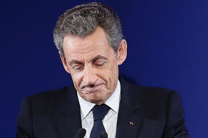 The prosecution said Mr Sarkozy had used false billing from a public relations firm during his failed re-election bid in 2012.